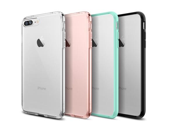 Spigen iPhone 8 Plus /7 Plus Ultra Hybrid Case Crystal Clear, DROP-TESTED
